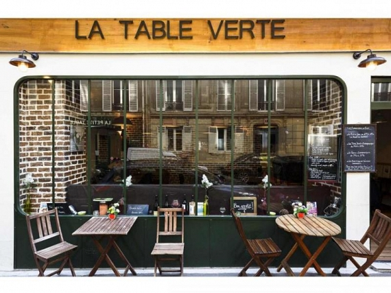 la table verte restaurant bio et engag paris. Black Bedroom Furniture Sets. Home Design Ideas